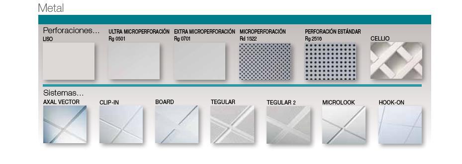 Techo desmontable armstrong materiales de construcci n for Tipos de techos desmontables