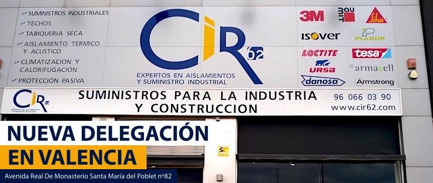 Nueva delegación en Valencia