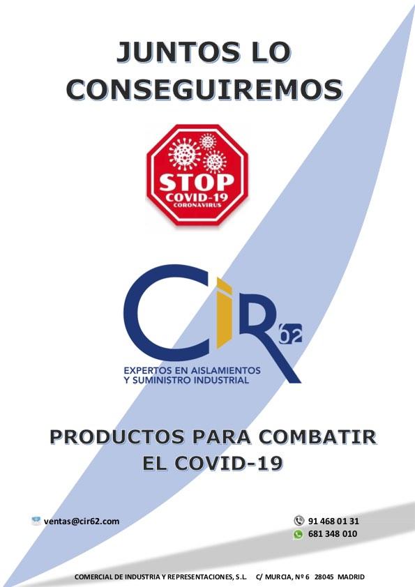 Catálogo CIR62 productos COVID